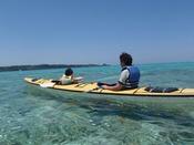 リザンから出発!カヤックで沖縄の大海原を大冒険!サンゴや熱帯魚をみながら大自然を満喫!