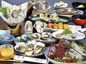 *答志島ブランド牡蠣「桃こまち」。生産者わずか7軒の、希少価値の高い牡蠣です