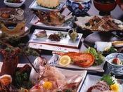スタンダード料理 旬の魚介をこころゆくまでお召し上がりください