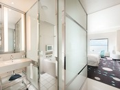 【セレブリオセレクト】小さなお子様連れも安心。 最上階11階に位置する、バス・トイレ独立型の客室。専用ラウンジ「セレブリオ・セレクト」がご利用いただけます。
