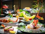 【料理イメージ】 新鮮な瀬戸内の幸をはじめ、岩国の郷土料理など心ゆくまでご堪能いただきます