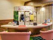 ベビーズスイート・キディスイートにご宿泊のゲスト専用デスク「MaMa's Desk」(ママーズデスク)
