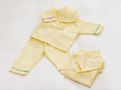 Baby's Sweet、Kiddy Sweetご宿泊者限定・貸出備品「お子様用パジャマ」80センチ~120センチまで10センチ刻みでご用意しております。※他お部屋タイプをご利用の場合は、120センチ(ワンピースタイプ)のパジャマをお貸出ししております。