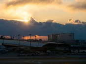 関空展望ホール「Sky View」からの眺め