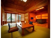 貴賓室『華』※和室+応接間+サンルームの『貴賓室・華』贅沢な時間が流れます。