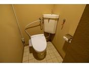 トイレ。日本が誇るウォシュレットは標準装備です。