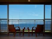 錦江湾に桜島を望む和室8畳+広縁