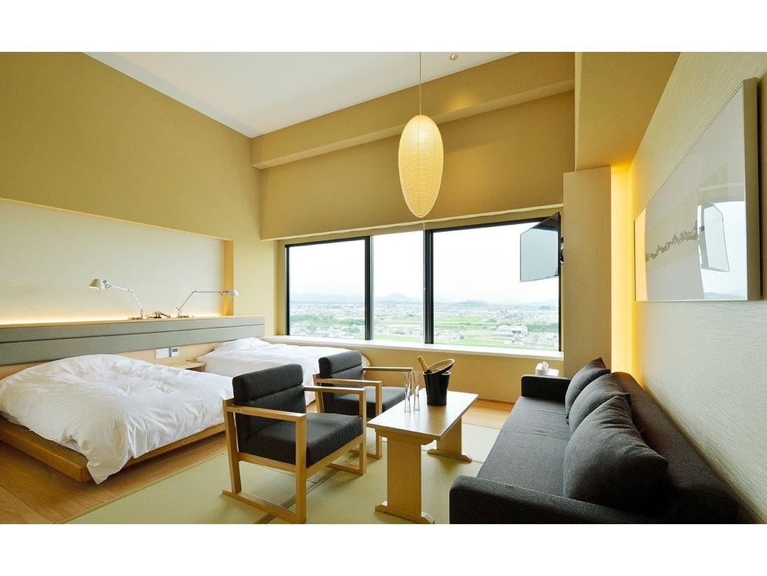 客室のデザインは33室すべて異なります。お部屋の指定は出来かねます。予めご了承ください。