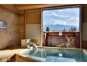 富士山展望貸切風呂50分3、675円※当日フロントにてご予約を承ります。