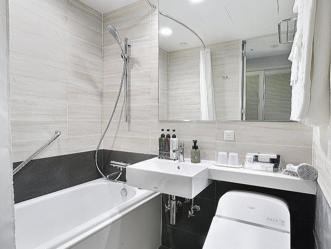 グランヴィアセミダブル【17平米】のバス・トイレ使いやすさを追求したデザインで完全リニューアル。