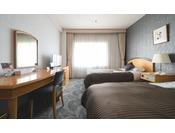 エコノミーツインルーム 23平米幅110cmのベッドを使用 ※写真は一例です