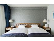 スイートルーム 幅120cmのベッドを使用 ※写真は一例です
