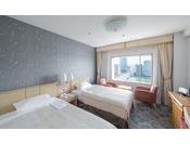 リバービューツインルーム 26平米幅110cmのベッドを使用 ※写真は一例です