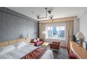 デラックスダブルルーム 32平米幅160cmのベッドを使用 ※写真は一例です