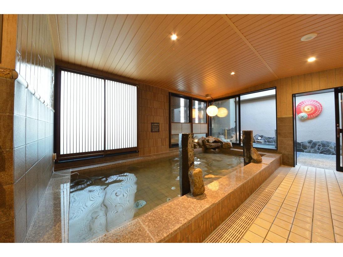 ◆【玉藻の湯】(40-41℃)大浴場(11階)・営業時間15:00-翌10:00(サウナのみ1:00-5:00利用停止)