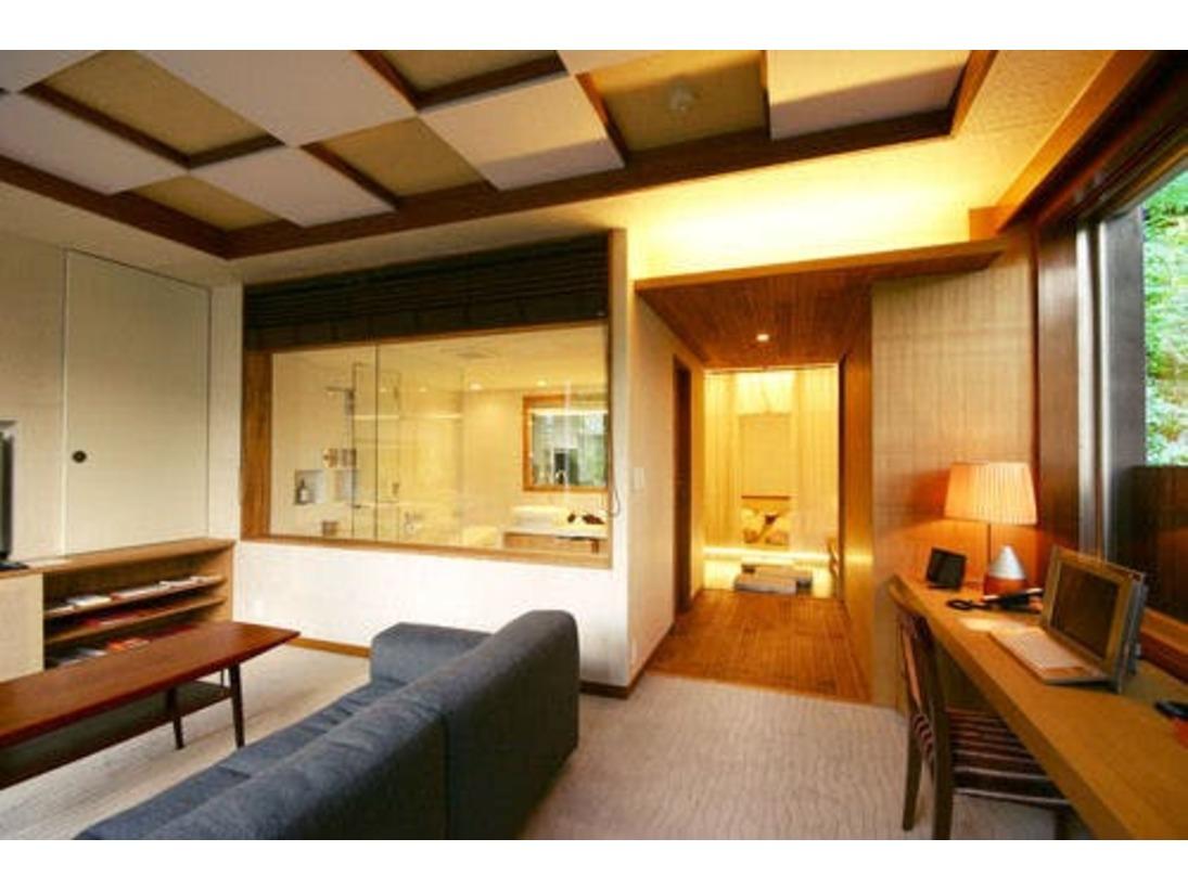 *【オレンジスイート】ホテルの外観とはまた違った一面のスイートルームで、至極のひと時を♪