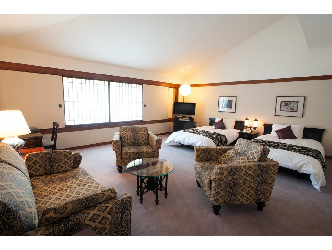 デラックスツインルーム居住性と機能性を兼ね備えた上質の空間。