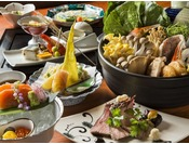 北海道の大地の恵みをふんだんに使った『旬の和食会席』