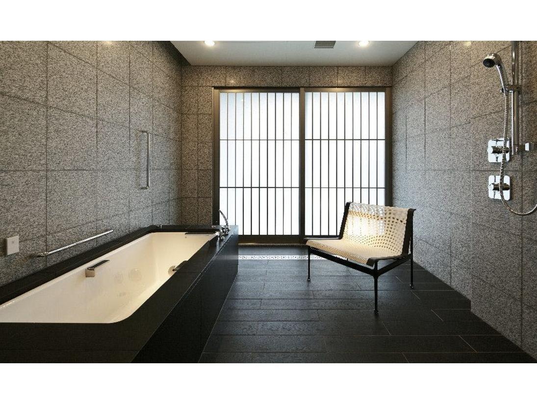 山王スイートバスルーム