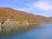 【周辺観光】宝仙湖の紅葉