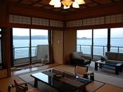 汐見亭最上階8階にございます特別室
