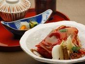 【追加料理】金目鯛のかぶと煮:3,000円(消費税別)