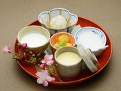 【お子様メニュー】離乳食セット-朝食:1,500円(消費税別)
