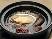【追加料理】あわびの薬膳スープ煮:4,500円(消費税別)