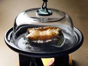 【追加料理】あわびの島焼酎おどり蒸し:4,000円(消費税別)