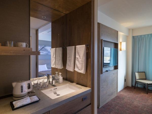 【一般客室】ツイン/洗面台