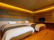 【つくしの部屋】白を貴重にした和モダンテイストのお部屋。