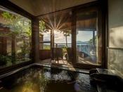 【わらび】贅沢に温泉を堪能できる客室風呂