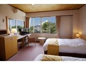 富士山側 洋室ツインルーム