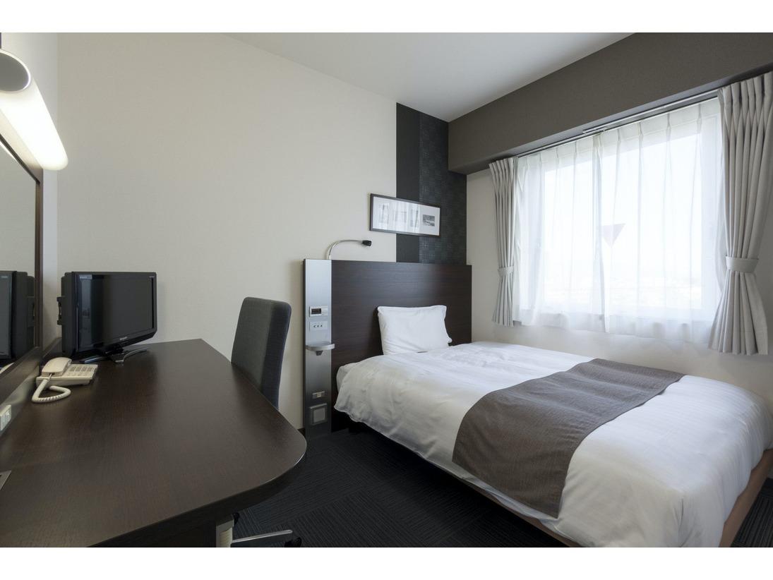 ■ダブルエコノミー:140cm幅ワイドベッドでぐっすり就寝!ビジネスにもレジャーにもお使いいただけます。