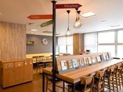 「ライブラリーカフェ」■利用料金:無料 ※添い寝のお子様も無料です。■営業時間:14:00~24:00