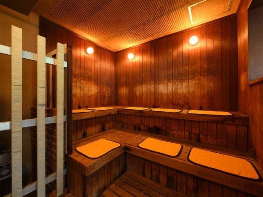 大浴場内サウナ完備