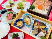 えらべる3種のご夕食【宮崎県産きなこ豚のせいろ蒸し】