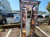 電気自動車用のEV充電器完備(2台分)