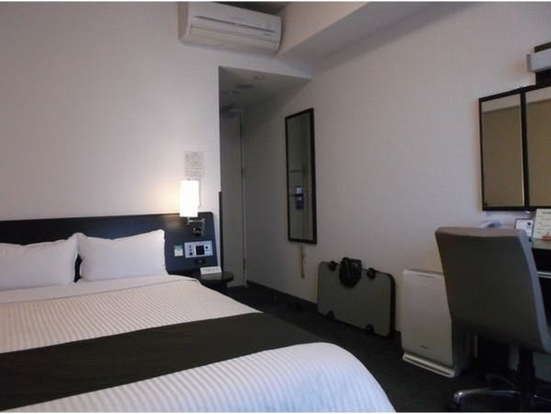 ワンランク上のコンフォートタイプのお部屋は上層階にございます。(禁煙12階または13階、喫煙11階) 全室加湿空気清浄機、LAN回線、Wi-Fi完備!