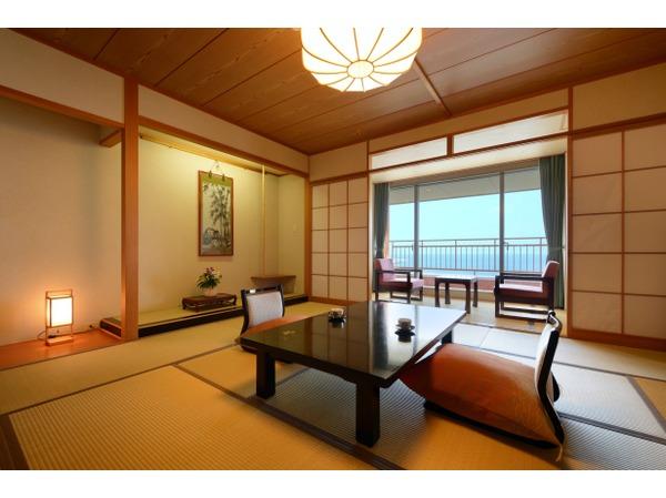 海側和室の一例