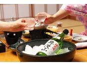 美味しい日本酒で、お料理もさらに美味しく!(地酒他各種お酒を取り揃えております)