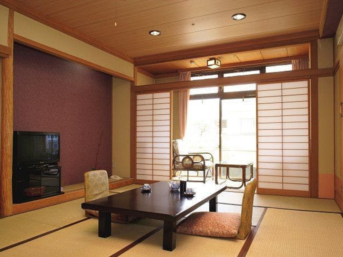 やすらぎとしつらいの佇まい、心和む新和風の客室