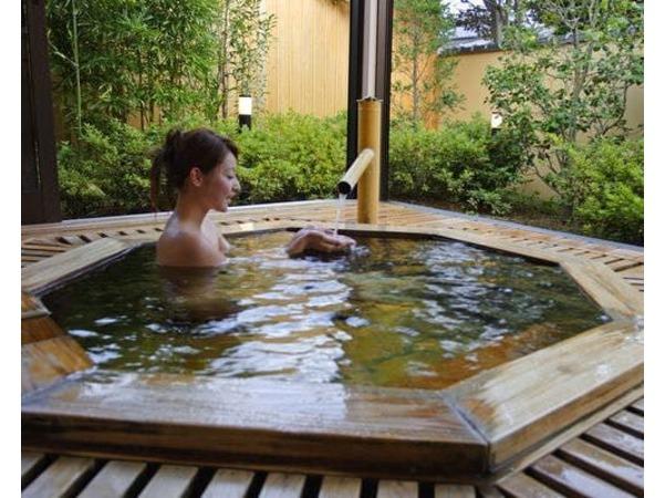 貸切露天風呂 通常1回45分2000円税別