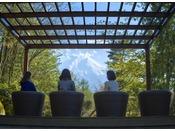 日本庭園「富士の照(ふじのてらす)」※絶景スポット