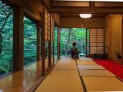 日本庭園茶室「清流庵」※お抹茶サービス(14時~18時)