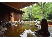 大浴場『河神の湯』露天風呂