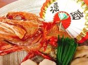 お祝いには『きんき宝焼き』をはじめとした縁起物で彩る慶事プランがおすすめ。