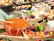 北海道自慢の海鮮をぜひご賞味ください。