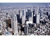 新宿副都心の風景