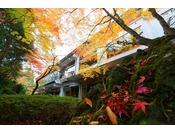 秋・日本庭園
